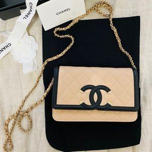 Chanel Filigree Crossbody Bag (Brand New w/ Tags)
